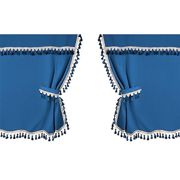 ΣΕΤ ΚΟΥΡΤΙΝΑΚΙΑ ΚΑΜΠΙΝΑΣ ΦΟΡΤΗΓΟΥ OSCURA  Μπλε  155cm X 250cm